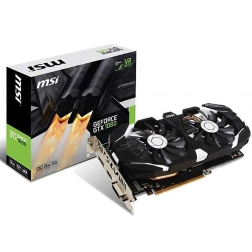 Carte Graphique MSI GeForce GTX 1060 3G OC