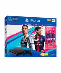 Prix Pack Sony Console PS4 Slim 500 Go Noir + FIFA 19 Standard Edition Tunisie