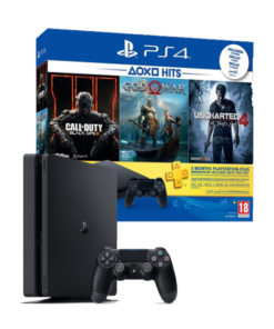 SONY Playstation 4 Slim -500Go + 03 Jeux et manette CUH-2216A