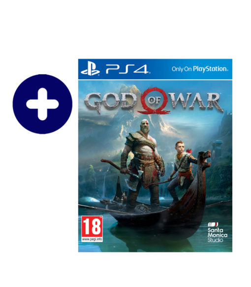 SONY Playstation 4 Slim -500Go god of war